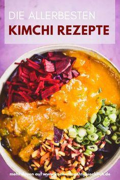 Kimchi Rezept: Bist Du bereit für etwas Experimentalküche, dann kann es jetzt losgehen. Die meisten Zutaten bekommst Du in jedem Supermarkt. Noch besser Biomarkt! Im Biomarkt hast Du auch gute Chancen die koreanische Chilipaste und Kurkuma zu ergattern.