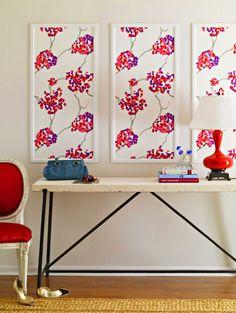 New Apartment Inspiration: Framing Wallpaper — Design Scouting
