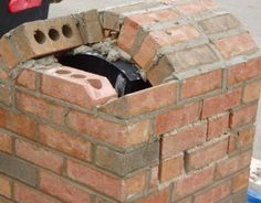 how to make arch in brick | How to Build a Brick Mailbox in pictures | BrickMailbox.net