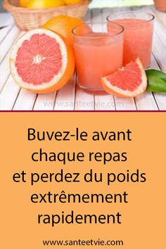 Drink it before each meal and lose weight extremely quickly Fitness Inspiration, Grapefruit, Detox, Lose Weight, Food And Drink, Healthy Recipes, Meals, Drinks, Breakfast