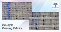 2.5 Layer Forming Fabrics, Forming Wires For Paper Making, Paper Machine Clothing