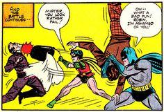jthenr-comics-vault:  Batman #9 (March 1942)Art by Bob Kane...