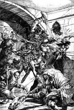 Conan the Barbarian by Geof Isherwood