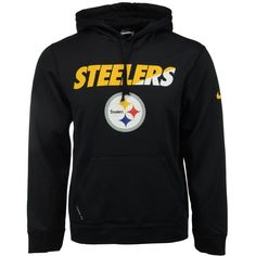 Nike Men's Pittsburgh Steelers Ko Staff Graphic Hoodie ($35) ❤ liked on Polyvore featuring men's fashion, men's clothing, men's hoodies, black, mens hooded sweatshirts, mens sweatshirts and hoodies, nike mens hoodies, mens hoodie and mens hoodies