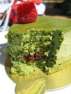 Green Tea Mousse 2 - Recipes for Japanese Dessert - International Recipes
