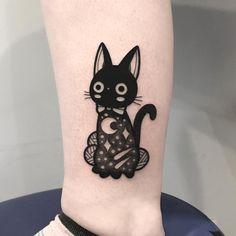 35 Cute Tattoo Designs by Hugo Tattooer - #tattoo #cute #kawaii #anime #ghibli #studioghibli