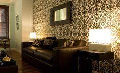 cores de parede de sala com textura - Pesquisa Google