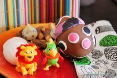 Huevos de chocolate rellenos#RecetasparaNiños #CocinaDivertida #CocinaCreativa #CocinaparaNiños