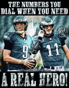 Philadelphia Eagles 911 What s your emergency Nick Foles and Carson Wentz  Philidelphia Eagles quarterback Philadelphia Eagles 70e2232ab