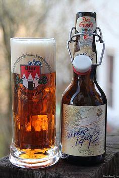 anno 1492 das neue Bier vom Grosch aus Rödental bei Coburg    www.der-grosch.de    www.neubierig.de