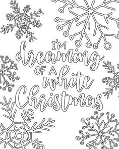 Free Printable Christmas Adult Coloring Pages