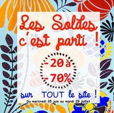 Louna Bazarette by LounaCasa.com | C'est parti pour les soldes !!!! |  Les Soldes, c'est parti !!!   Jusqu'à -70%  sur TOUT  le site !!!   Profitez-en !!!     www...