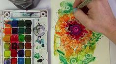 """This is """"watercolor blooms"""" by Alisa Burke on Vimeo, the home for high quality videos and the people who love them."""