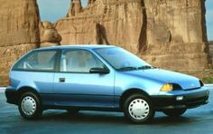 1994 Geo Metro, this is the car I bought when the Festiva was totaled. I traded it in for the Tracker when I was helping Theresa buy her Metro Storm Tracker, Suzuki Swift, Magic Realism, Timing Belt, First Car, Small Cars, Car Photos, My Ride, Geo