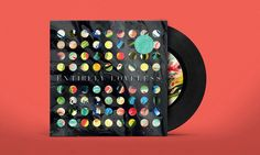 album art for Rumble in Rhodes latest album by Anti Grandpeople / record  music packaging
