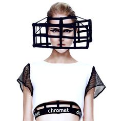 CHROMAT | Structural Experiments for the Human Body. Cube Cage