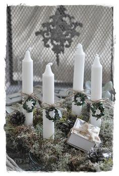 Beautiful candle decoration