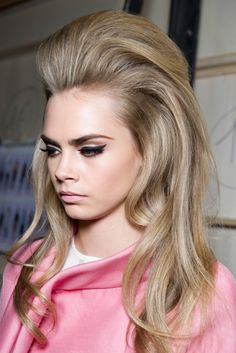 Quiff at Dsquared A/W 2012 like it!!