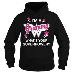 Get yours awesome Im A Grammy Whats Your Superpower Personalized Shirt and Hoodie  Shirts & Hoodies. Im A Grammy Whats Your Superpower Personalized Grandma Shirt #gift, #idea, #photo, #image, #hoodie, #shirt, #christmas