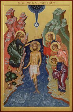 Battesimo di Gesù- Seminario Arcivescovile di Milano-Seveso