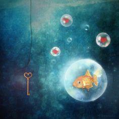 fishy love 2 by monika-es.deviantart.com on @deviantART