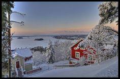 Pispala in wintertime - beautiful!