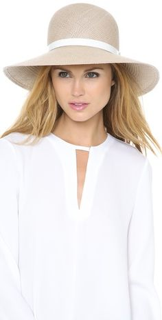 Rag & Bone Wide Brim Beach Hat | SHOPBOP love it in black too! This length is perfection is it's windy on the beach that day!