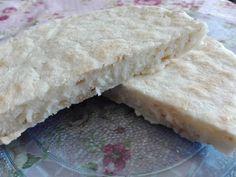 Pan de sartén sin gluten Lemon Pie Receta, Pan Rapido, Recipe Images, Menu Restaurant, Dairy, Rice, Gluten Free, Bread, Cheese