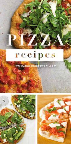 Pizza Recipes | Martha Stewart Living