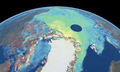 Arctic bounces back: ESA satellite reveals that polar ice INCREASED by 50% in a year