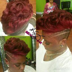 # shortcuts #ksangbeautybar short hair and color #rochesterny