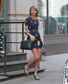 Taylor Swift in NYC on April 22, 2014