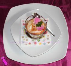 Showroom by Creative-Pink: enerBio Kochschule Quarkmousse mit fruchtiger Sauce #enerbio
