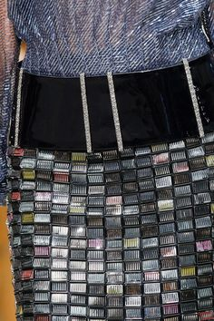 Texture - Chanel Fall 2013 Couture Collection Slideshow on Style.com
