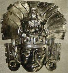Aztec jaguar mask