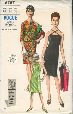 Vogue 6787 - Vintage Sewing Patterns