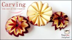 ItalyPaul - Art In Fruit & Vegetable Carving Lessons: Art In Apples Show - Fruit Carving Apple Secret Lucky Star ★ Vegetable and Fruit Carving Free Lessons © Original works The Art of ItalyPaul Carving