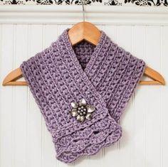 crochet scarflette pattern (2 of 5)