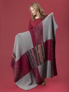 Image of Level 1 - Beginner Knit Afghan