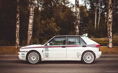 Lancia Rally Car is Half Practical, Half Uncut Awesome - Photography by Daniil Matyash for Petrolicious