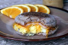 Healthier Egg McMuffin