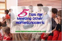 5 Tips for Meeting Other Homeschoolers - Hip Homeschool Moms