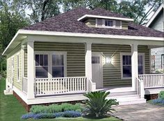 Adorable Bungalow House Plan - 50105PH | 1st Floor Master Suite, CAD Available…