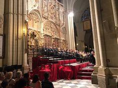Concierto de clausura del Festival de música El Greco de #Toledo #StabatMater de #Rossini junto a la orquesta sinfónica de Madrid