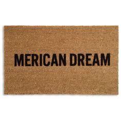 Merican Dream Doormat 18x30 47, area rugs, rugs & textiles