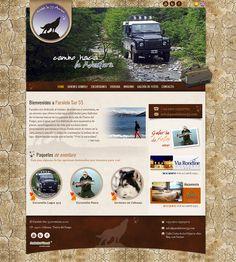 Paralelo Sur 55 - Empresa de turismo aventura.  Diseño y desarrollo Web 2.0  Sistema Administrable (secciones, destacados, galería de fotos, admin. de banners, slides,etc.)  Web: www.paralelosur55.com