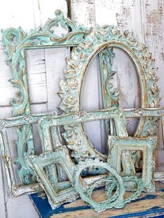 Shabby Chic furniture and style of decor displays more 'run down' or vintage items, or aged furniture. Shabby Chic is the perfect style balanced inbetween vintage and luxury, or '… Shabby Chic Furniture, Shabby Chic Decor, Painted Furniture, Diy Furniture, Vintage Furniture, Chabby Chic, Shabby Chic Frames, Distressed Furniture, Furniture Stores