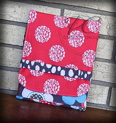 My personal iPad case/sleeve.  The very first one I ever made!