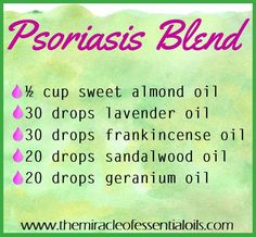 DIY Essential Oil Blend for Psoriasis