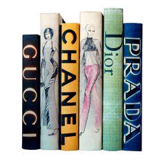 Haute Couture I Hand-Bound Decorative Books